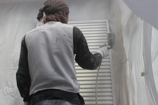 塗装職人の写真