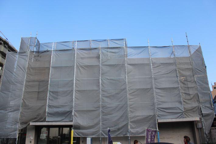 三重県津市の松田様邸の塗装前の写真