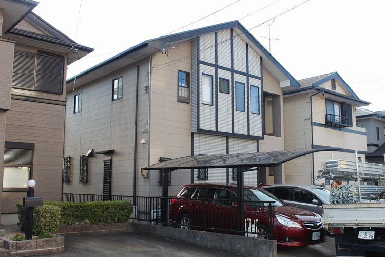 三重県津市S様邸の塗装前