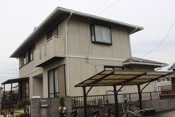 三重県津市高野尾町O様邸塗装前写真