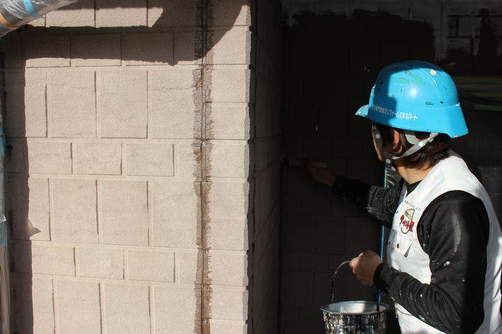 三重県鈴鹿市K様邸の外壁塗装です。