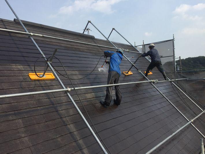 屋根塗装 外壁塗装 三重 40坪