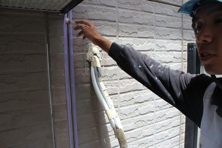 外壁塗装 35坪 ガイナ 三重