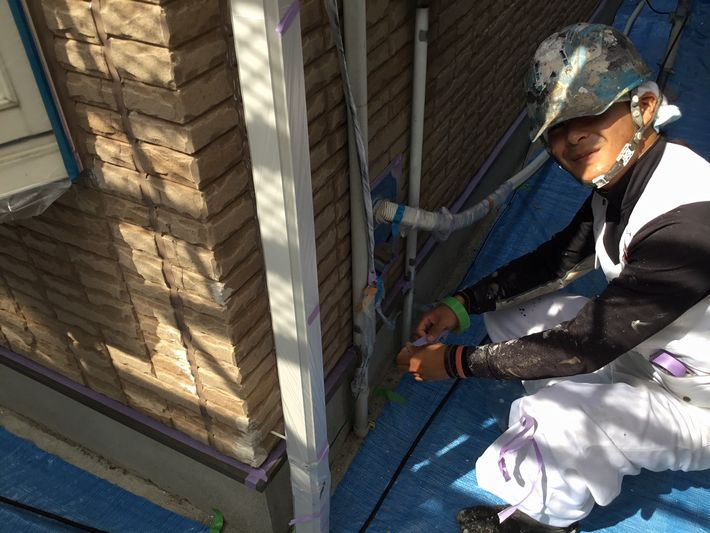 三重県 四日市市 ガイナ 外壁塗装