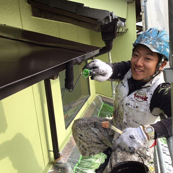 三重県 鈴鹿 ガイナ 外壁塗装