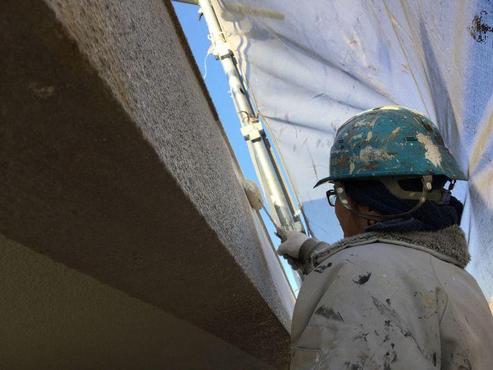 三重県 津市 外壁塗装  防水工事