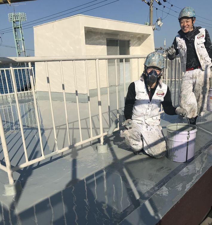 外壁塗装 三重県津市 防水工事