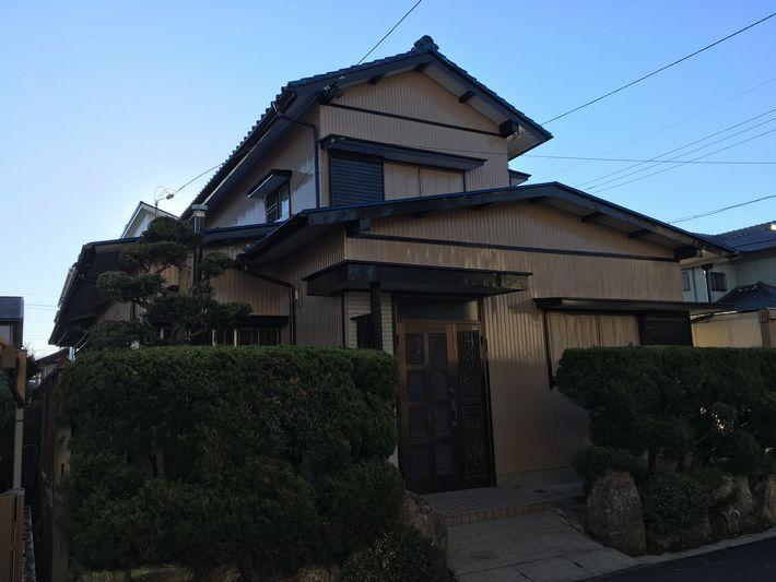 外壁塗装 三重県 住宅
