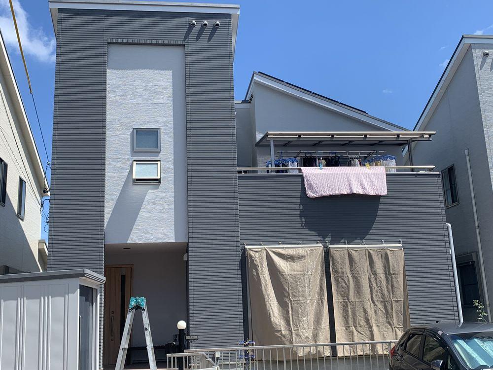 外壁塗装・グレー:リペイント匠