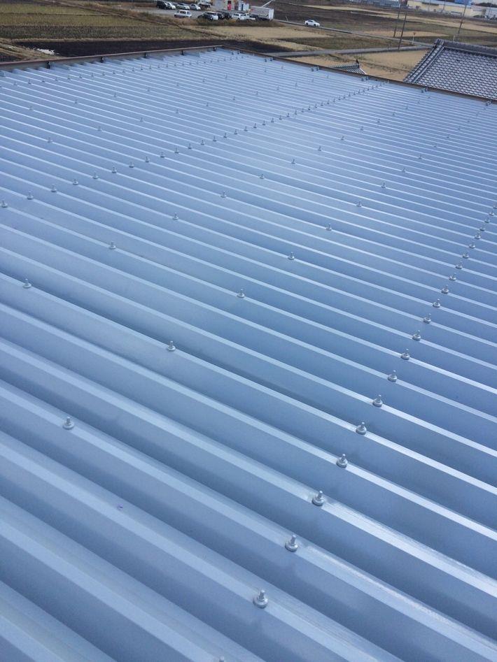 屋根塗装後写真