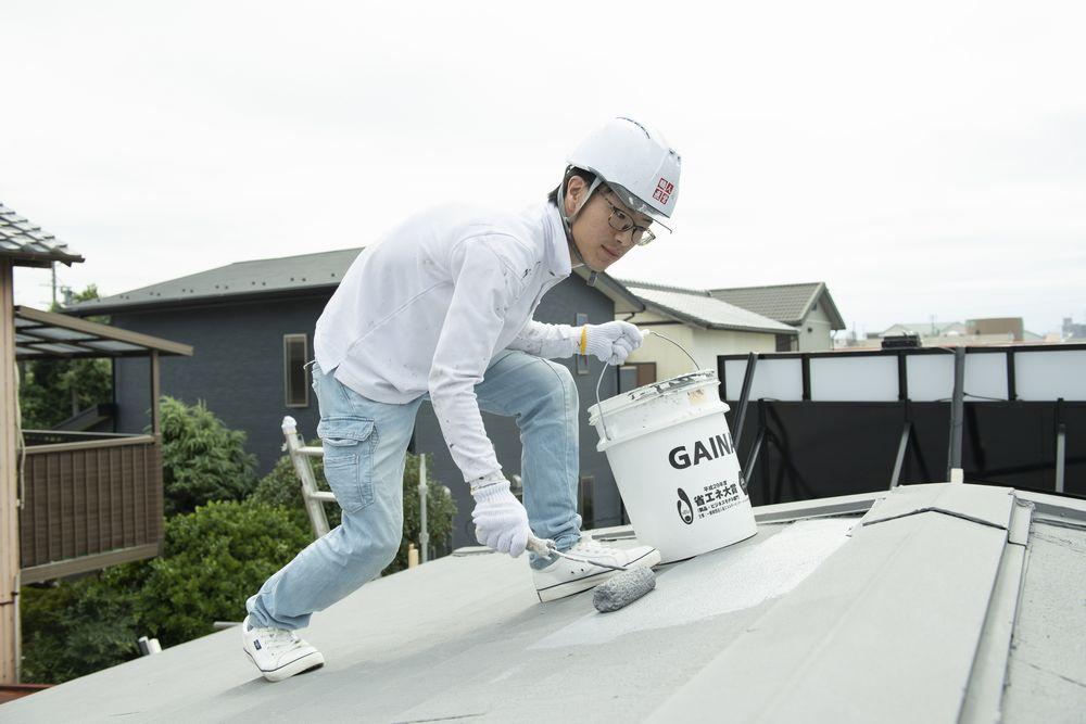 屋根塗装ガイナ