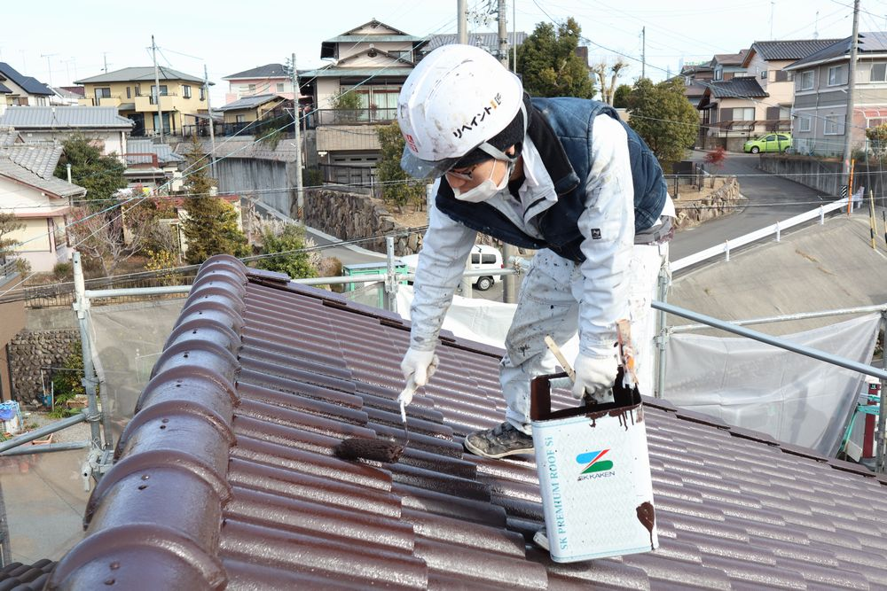 モニエル瓦、屋根塗装・リペイント匠