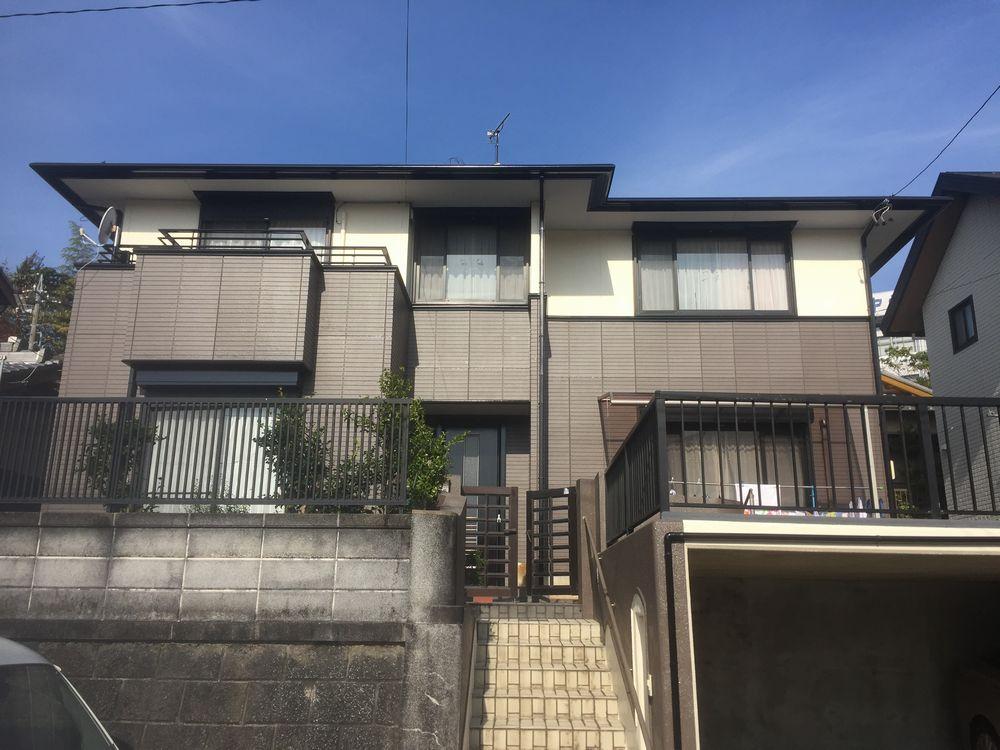 三重県伊勢市T様邸の外壁塗装後