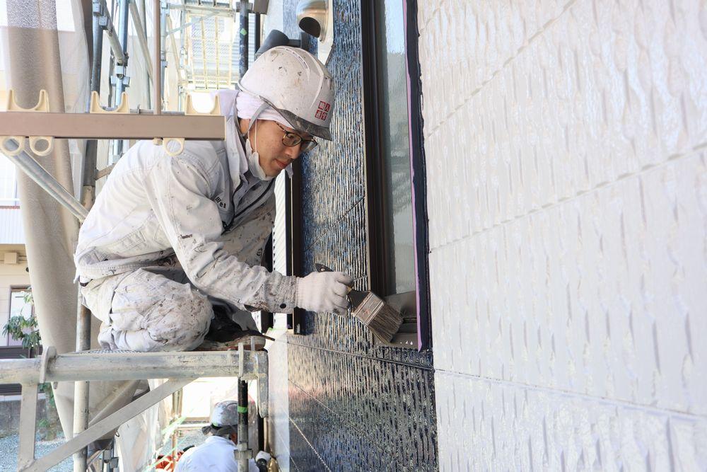 外壁塗装後の掃除