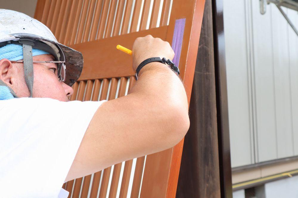 下地処理、外壁塗装