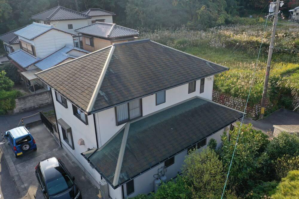 三重県鈴鹿市外壁塗装・屋根塗装前:リペイント匠
