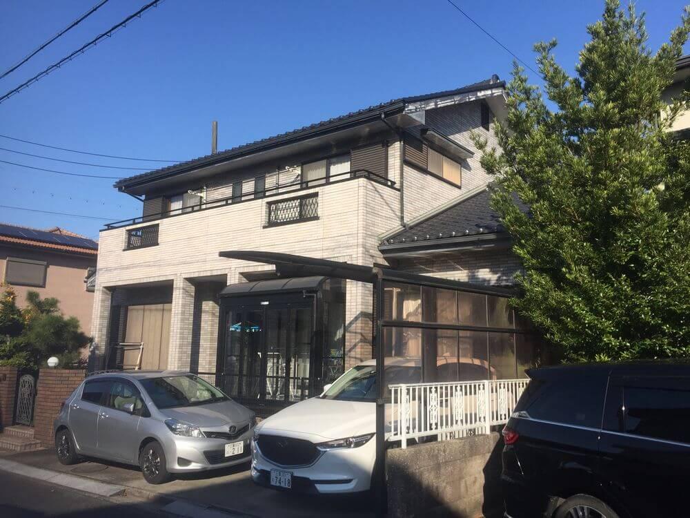 三重県津市ガイナ外壁塗装前:リペイント匠