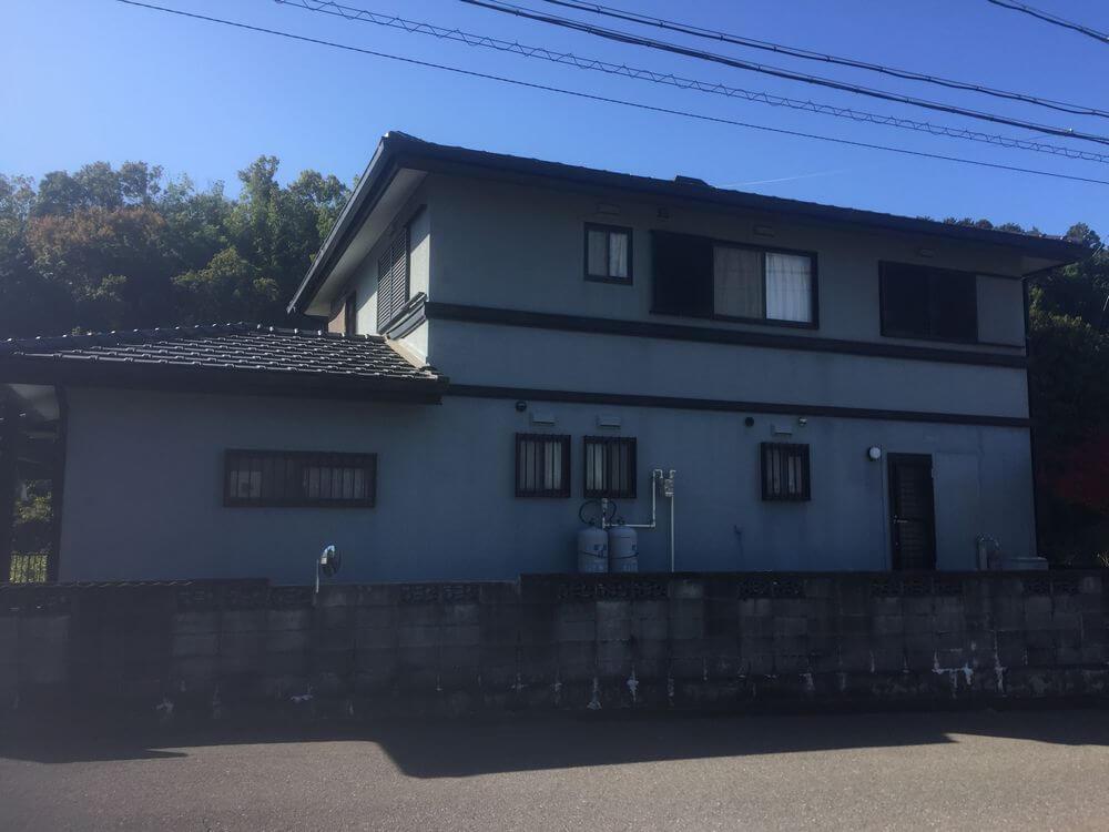 三重県津市外壁塗装前写真:リペイント匠