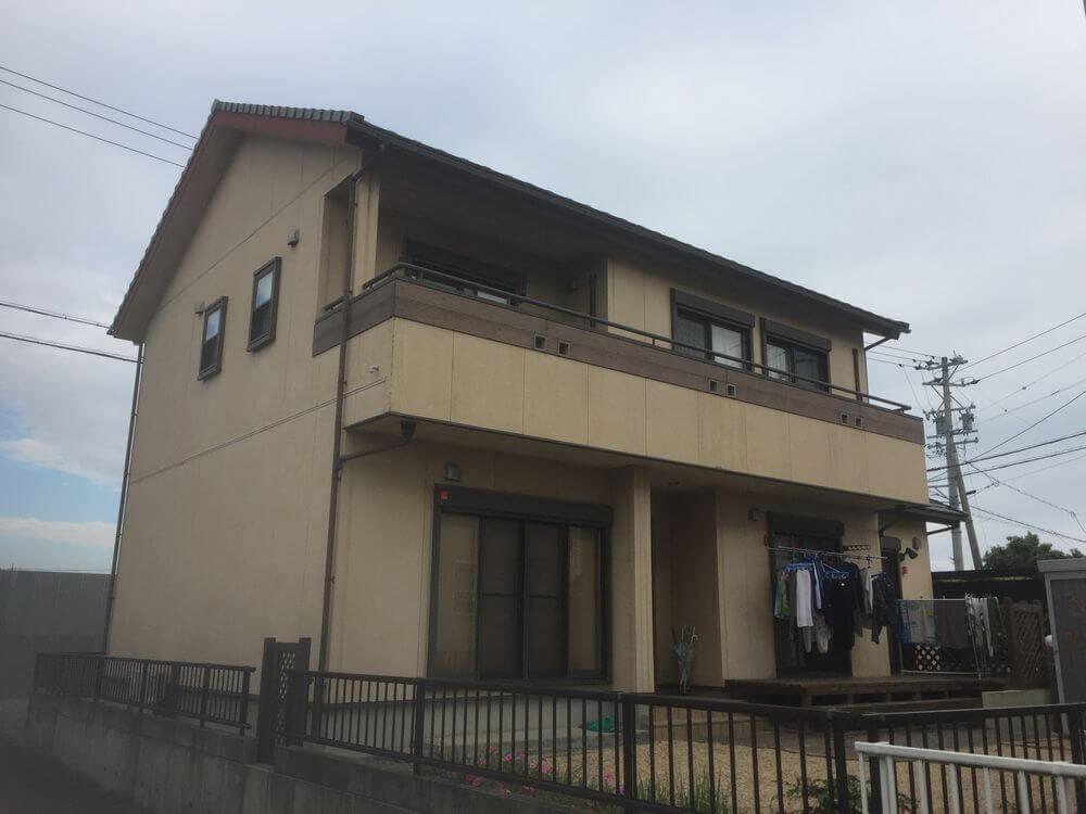 三重県鈴鹿市G様邸【無機塗料】施工前