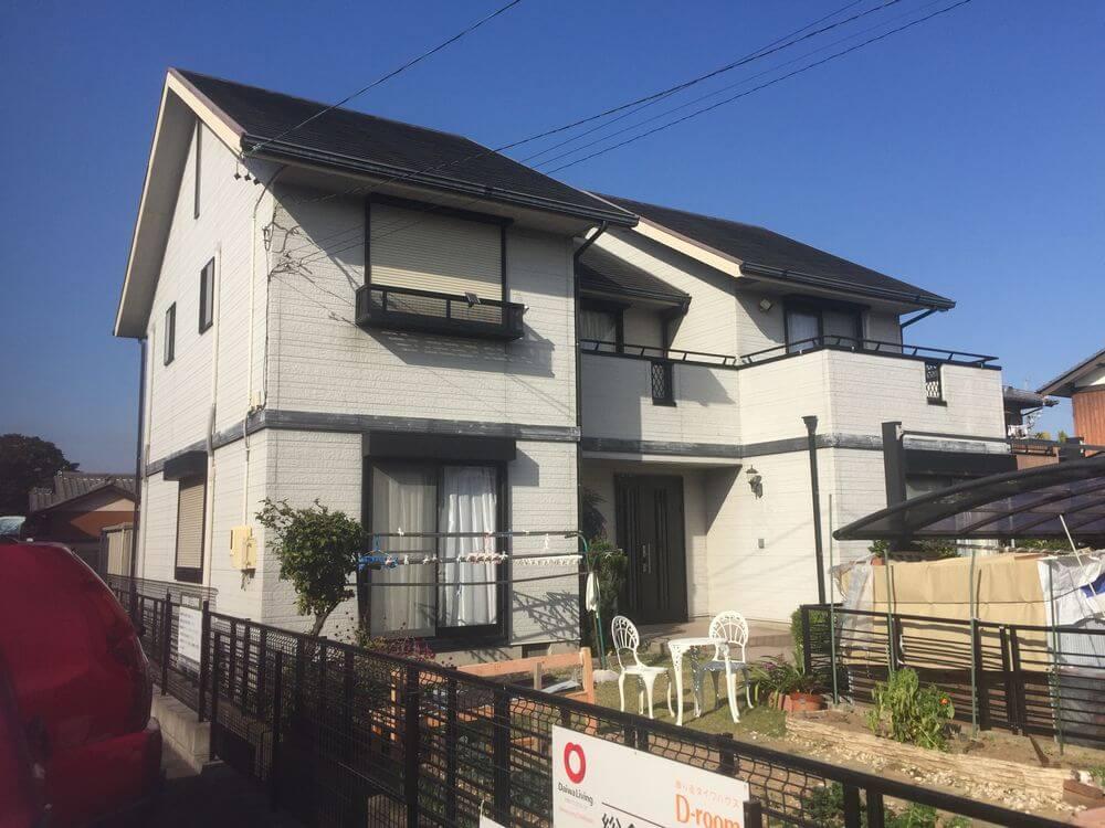 三重県鈴鹿市N様【外壁塗装・屋根塗装】フッ素:施工前