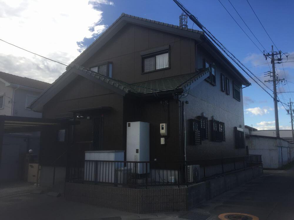三重県鈴鹿市G様邸【無機塗料】施工後
