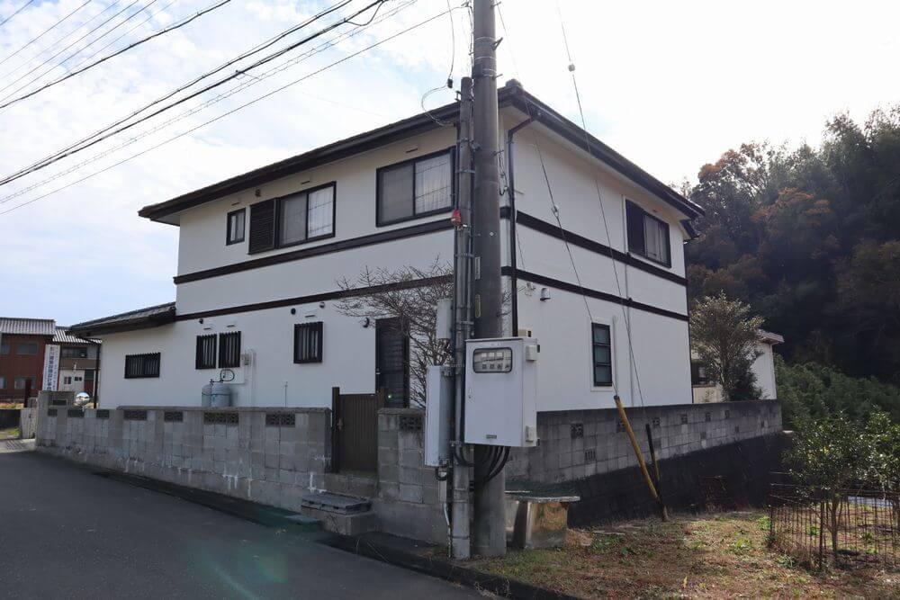 三重県津市外壁塗装後写真:リペイント匠