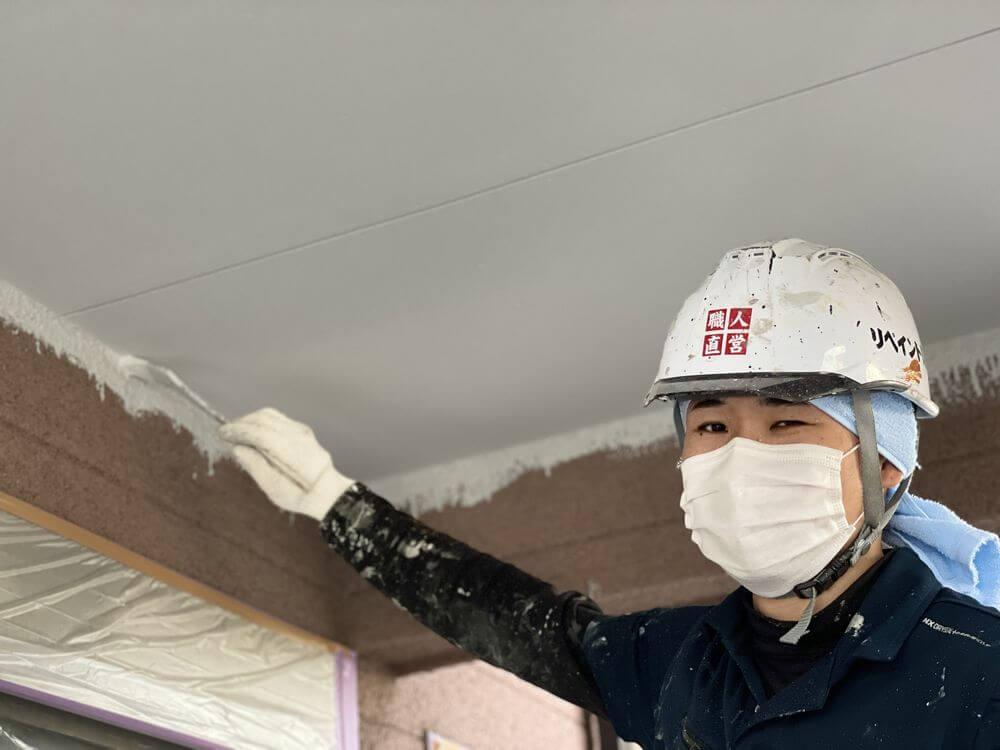軒天上の塗装期間