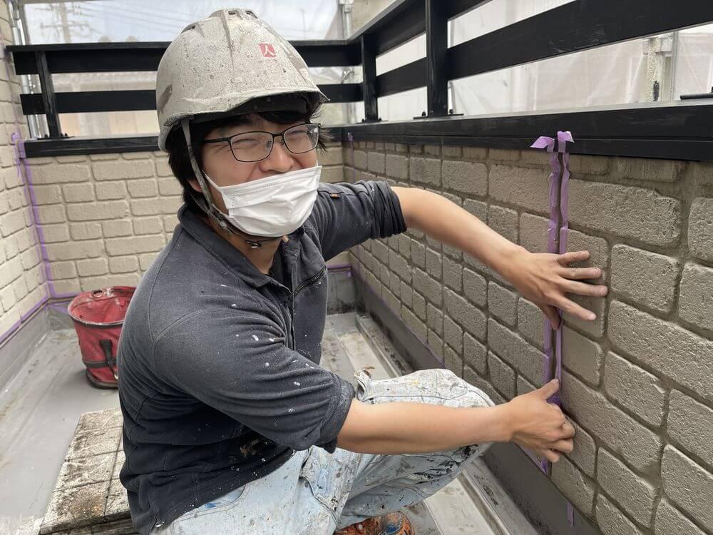 津市、シリコン、外壁塗装、リペイント匠