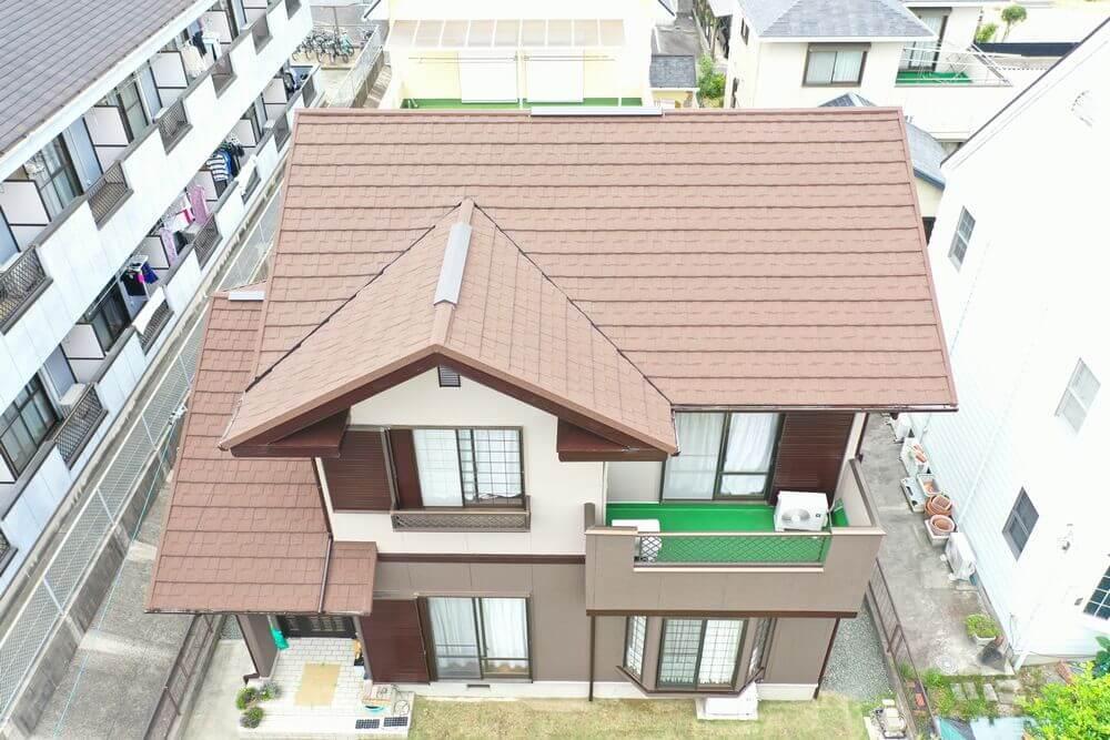 鈴鹿市、屋根カバー工法、リペイント匠