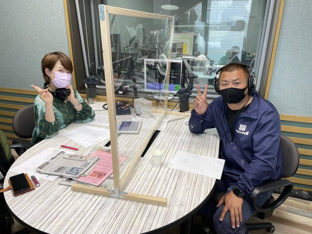 ラジオ、FM三重、リペイント匠