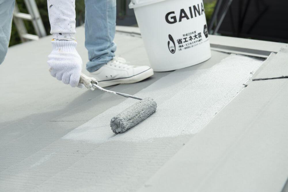 屋根塗装、暑さ対策、ガイナ