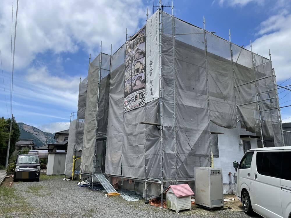 外壁塗装、津市、鈴鹿市、松阪市、リペイント匠