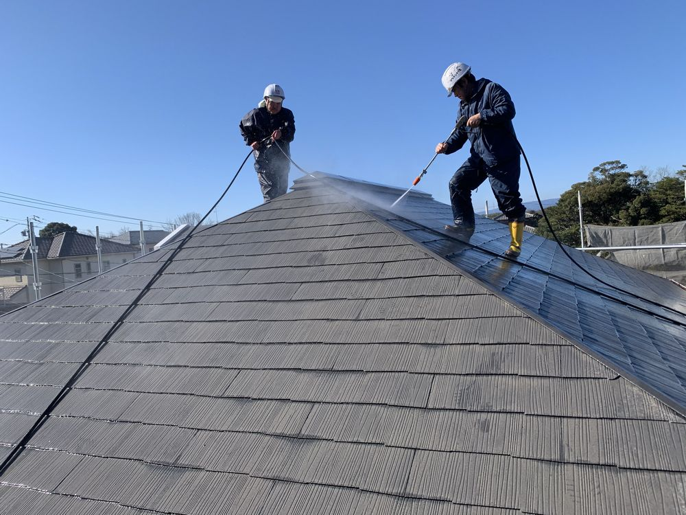 高圧洗浄、屋根塗装、リペイント匠