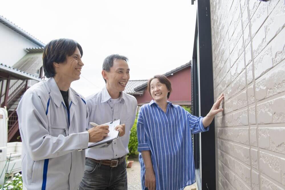 外壁塗装、時期、セルフチェック、リペイント匠
