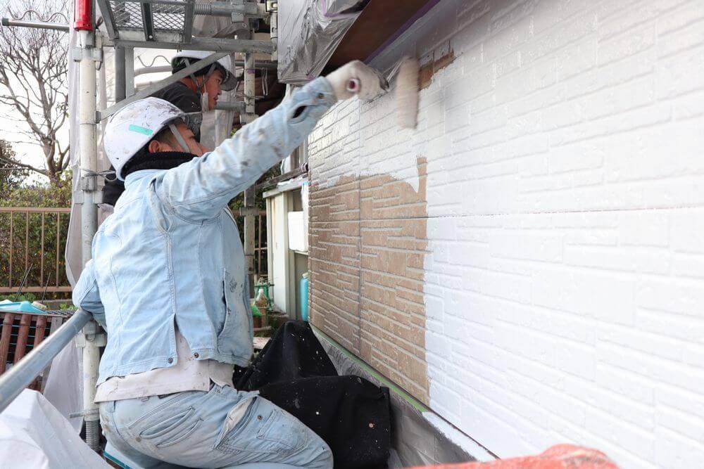 外壁塗装、リペイント匠