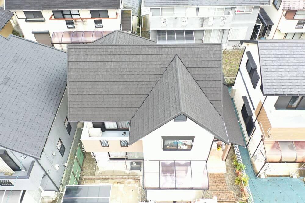 外壁塗装 屋根カバー工事 無機塗料 リペイント匠