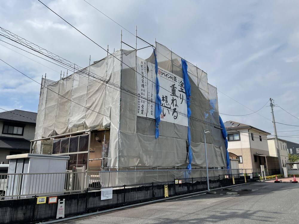 四日市市 外壁塗装 リペイント匠