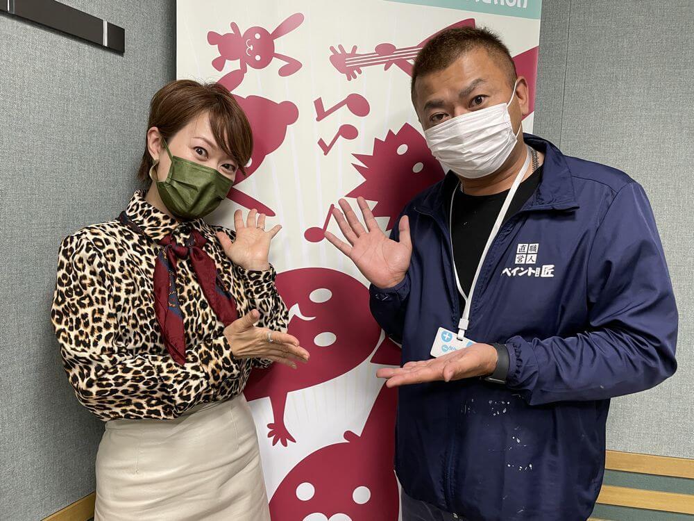 レディフラ FM三重 外壁塗装 リペイント匠